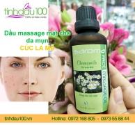 Dầu massage mặt cho da mụn (Cúc la mã)